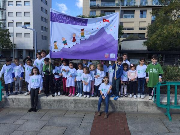 Marcha contra el cancer infantil 1